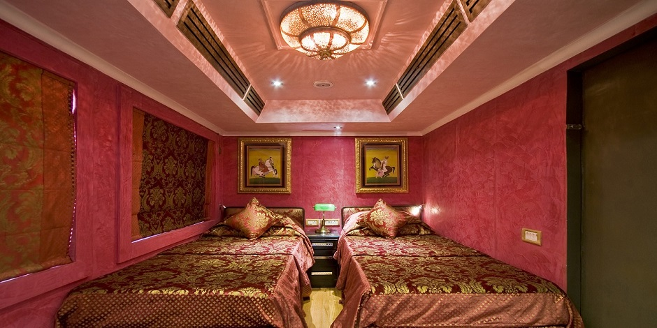 Suite Emerald du Train Royal Rajasthan