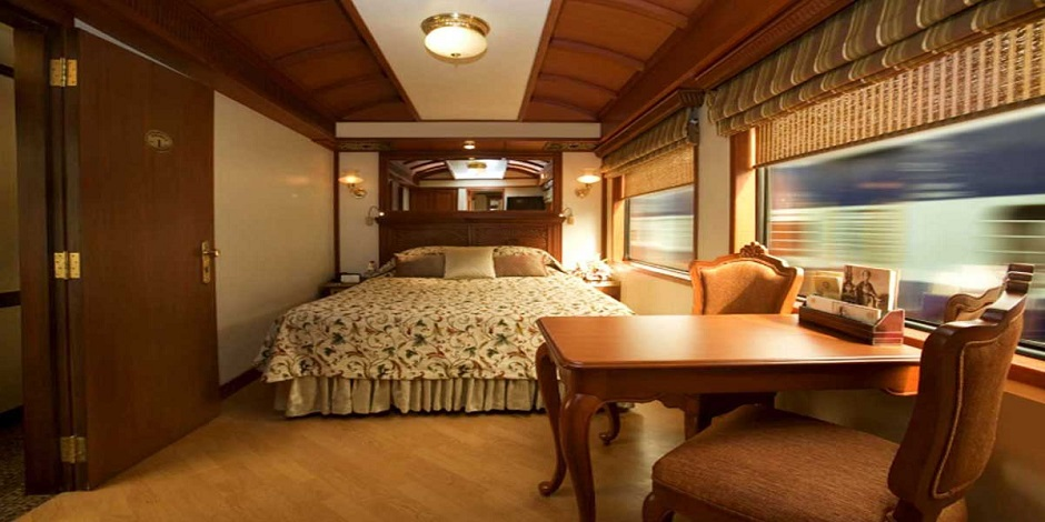 Suites Junior avec lit double du Maharajas' Express