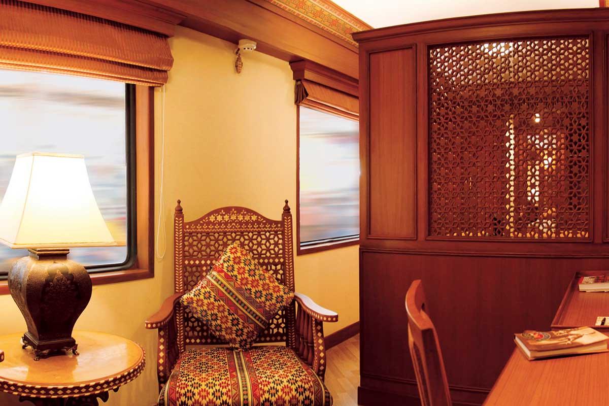Le confort à bord du Maharajas' Express
