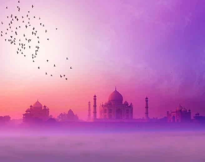 Taj Mahal dans sa splendeur