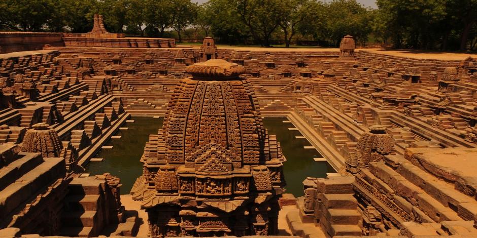 Le temple de Sūrya de Modhera
