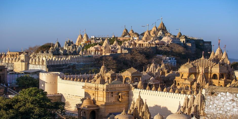 Somptueux temples du jaïnisme