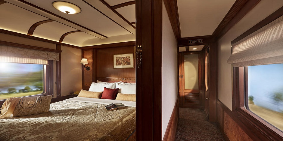 Chambre deluxe double du Train Deccan Odyssey