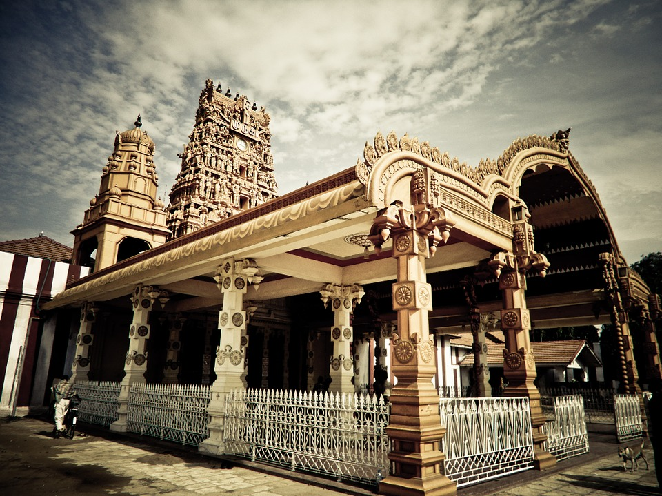 Le temple hindou Nallur Kandaswamy